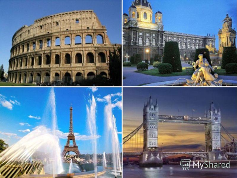 Туристские потоки направлены в центры отдыха во Франции, Испании, Италии результат привычки к летнему пляжному отдыху. Великобритания известна образовательным туризмом. Скандинавия и Ирландия специализируются на экологическом туризме. Европейские стр