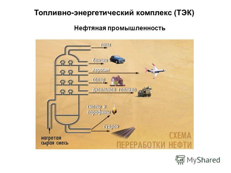 Топливно-энергетический комплекс (ТЭК) Нефтяная промышленность