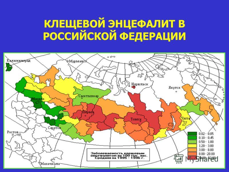 КЛЕЩЕВОЙ ЭНЦЕФАЛИТ В РОССИЙСКОЙ ФЕДЕРАЦИИ