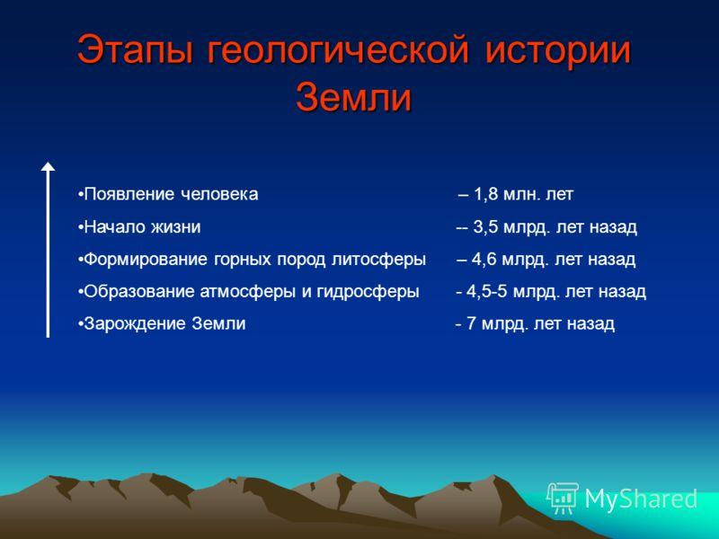 Главные особенности рельефа России и строение земной коры Геологическое строение и рельеф
