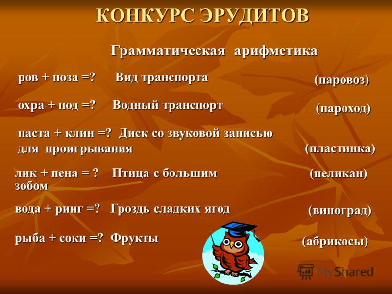 Презентация Квн По Русскому Языку 5 Класс