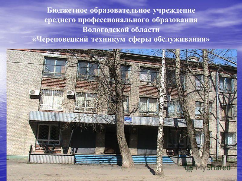 Бюджетное образовательное учреждение среднего профессионального образования Вологодской области «Череповецкий техникум сферы обслуживания»