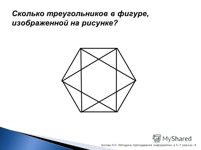 Анализ – мысленное разделение объекта на составные части или выделение признаков объекта. Разделение на составные части 7Босова Л.Л. Методика преподавания информатики в 5-7 классах