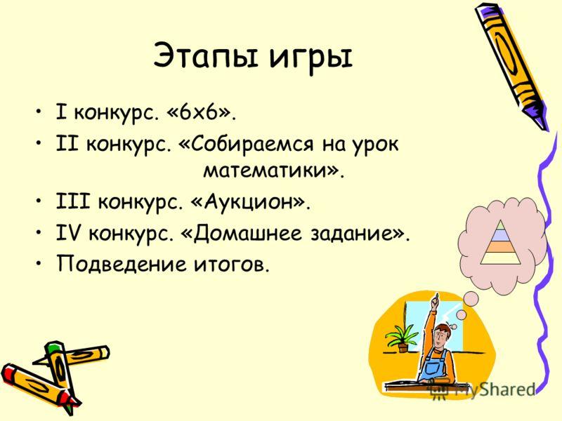 Цели игры Развитие логического мышления; Формирование правильной математической речи; Развитие интереса к предмету.