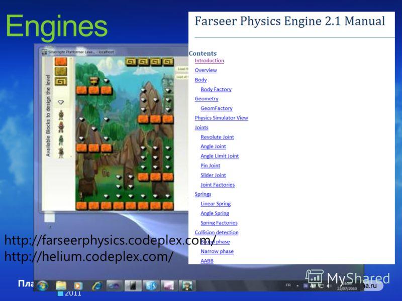 http://farseerphysics.codeplex.com/ http://helium.codeplex.com/