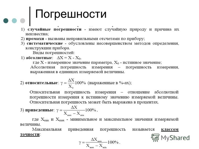 Гаврилов А.В. НГТУ, кафедра АППМ 15 Погрешности