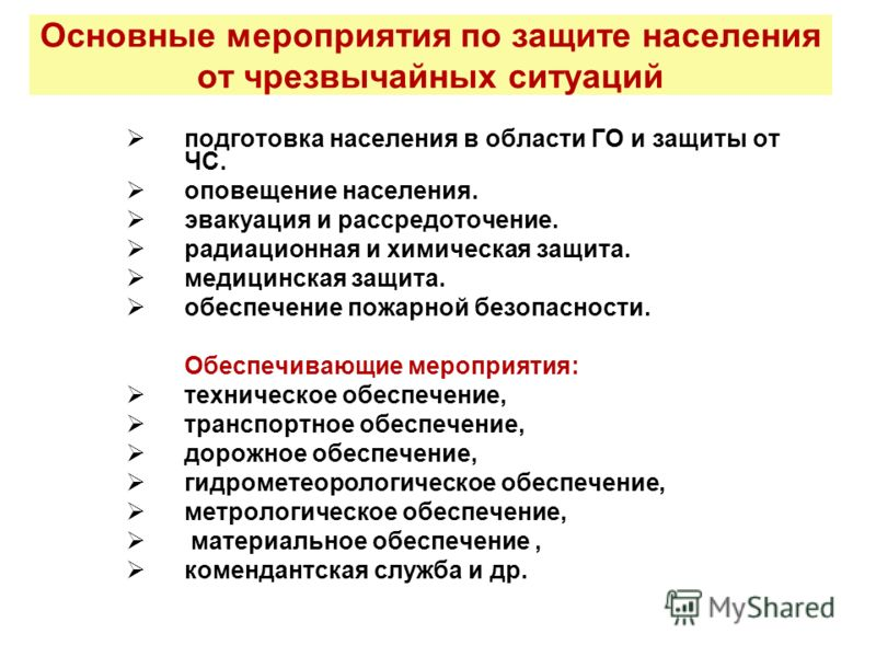 Презентация Эвакуация Населения