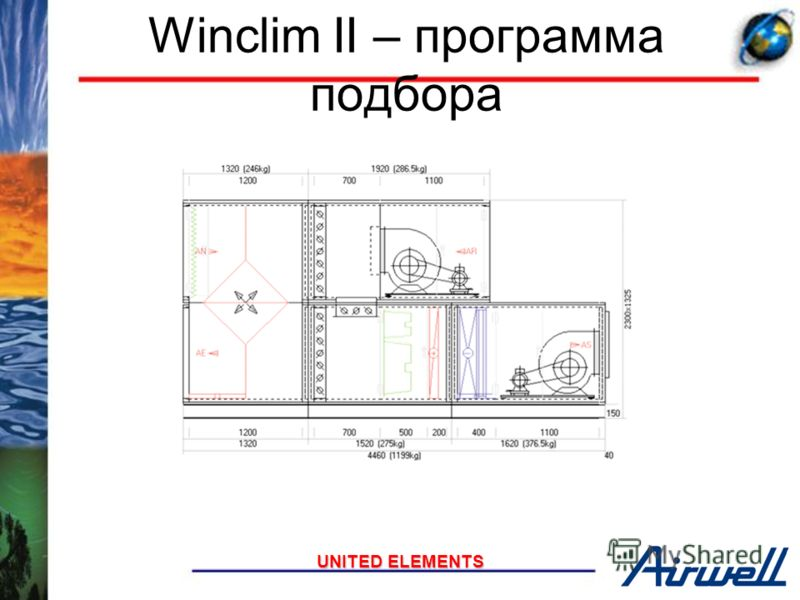 UNITED ELEMENTS Required for outdoor units Roof with larger edges Important slope No water retention Mechanical fixation Central reinforcing piece mounted over the entire length to get rounded roof, thus avoiding water retention Крыша для наружной ус
