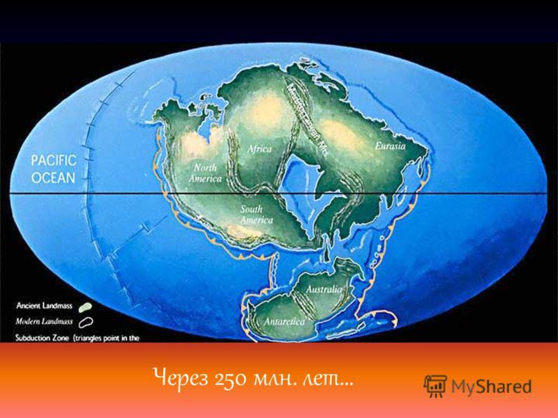 Через 250 млн. лет…