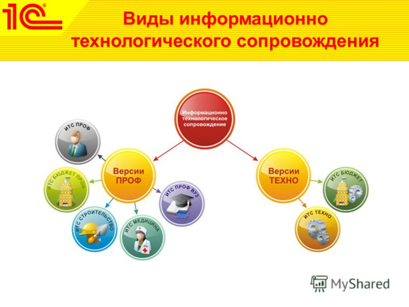Виды информационно технологического сопровождения