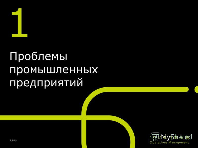 10/13/2012 1 Проблемы промышленных предприятий