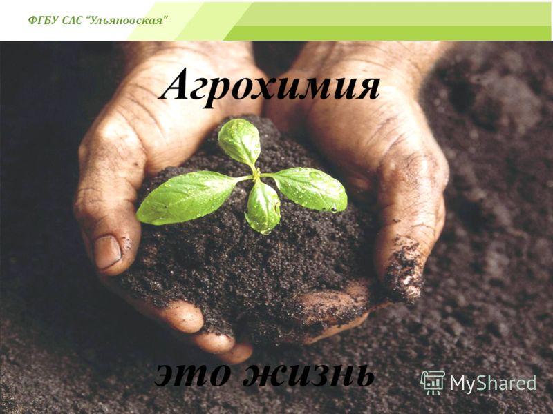 - это жизнь Агрохимия- ( ФГБУ САС Ульяновская