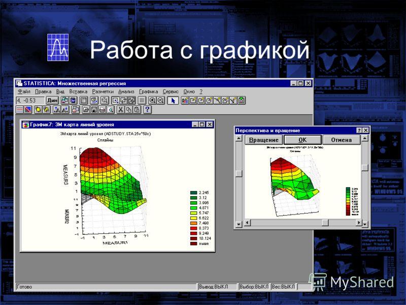 3D-вращение и перспектива Работа с графикой
