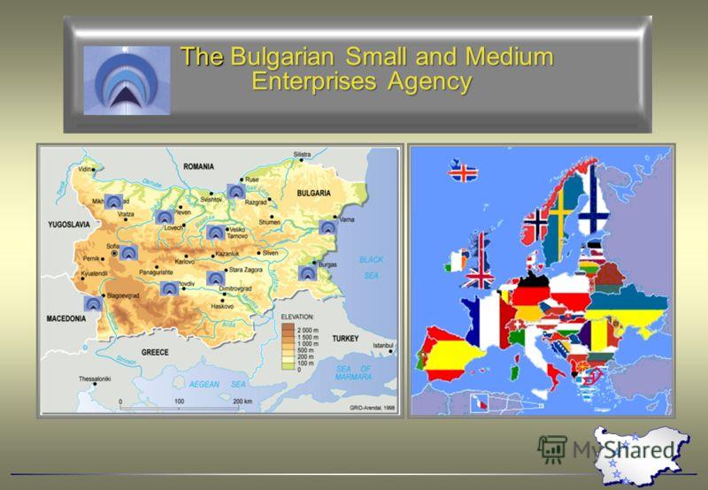 The Bulgarian Small and Medium The Bulgarian Small and Medium Enterprises Agency Enterprises Agency