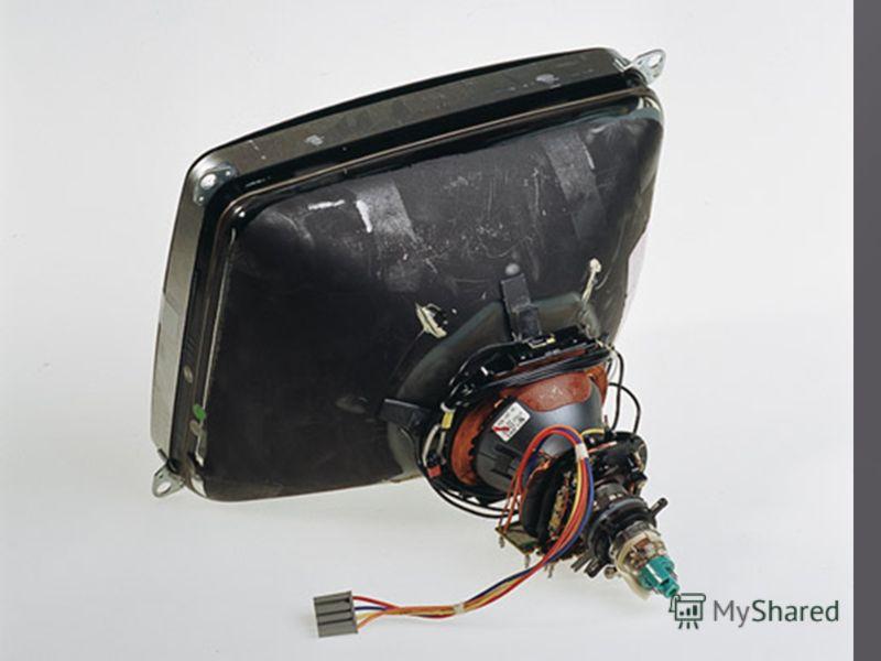 - приемная вакуумная электронная трубка, преобразующая электрические сигналы в видимое изображение