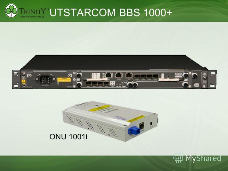 UTSTARCOM BBS 1000+ ONU 1001i