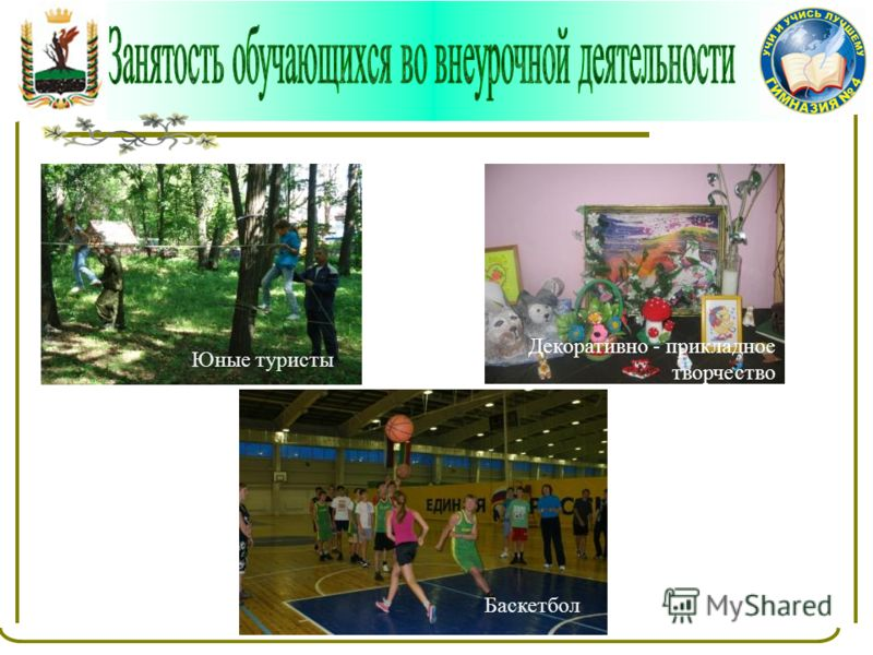 Керамика ЦЭВ «Прометей» Цветоделие Юные туристы Баскетбол Декоративно - прикладное творчество
