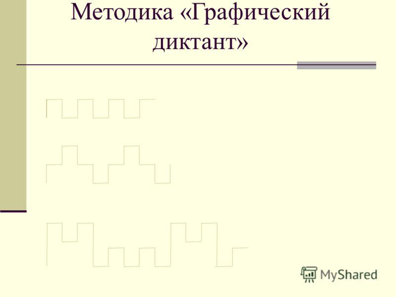 Методика «Графический диктант»