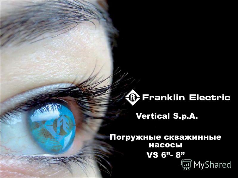 Vertical S.p.A. Погружные скважинные насосы VS 6- 8