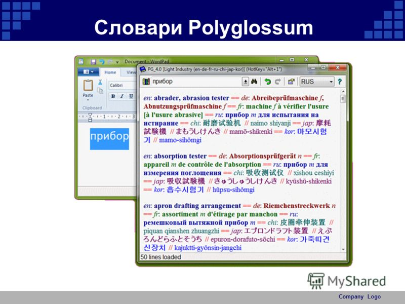 Company Logo Словари Polyglossum