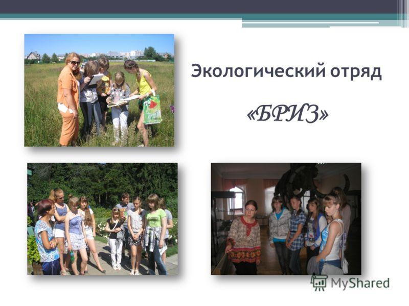 Экологический отряд «БРИЗ»