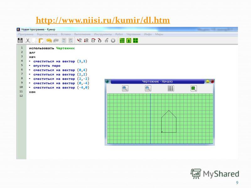 http://www.niisi.ru/kumir/dl.htm 9