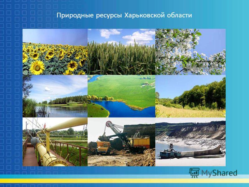 Природные ресурсы Харьковской области