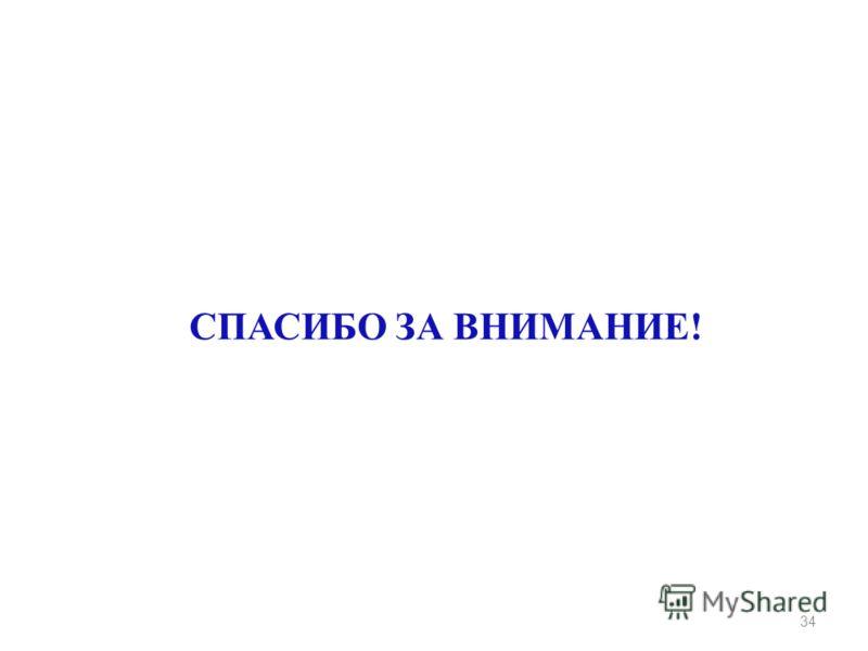 СПАСИБО ЗА ВНИМАНИЕ! 34