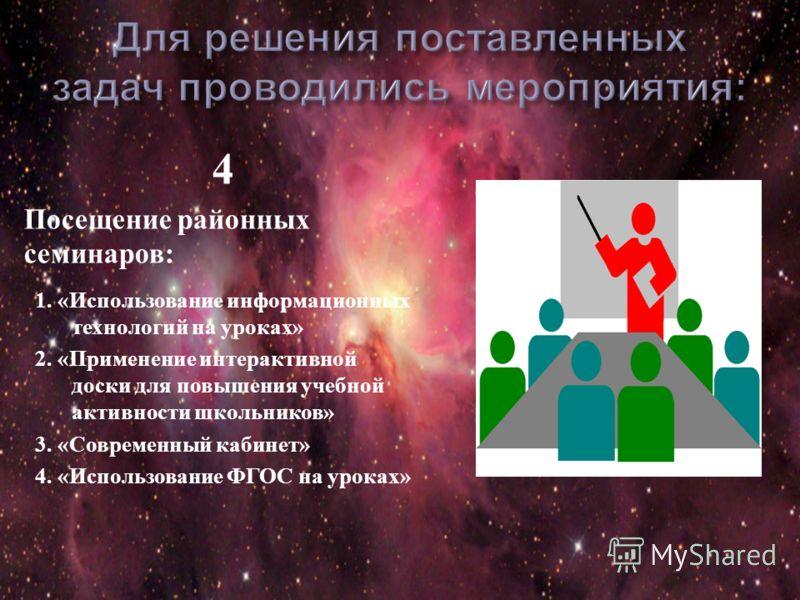 3 Работа по совершенствованию своего профессионального уровня путем освоения новых педагогических технологий