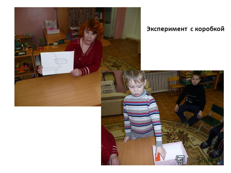 Эксперимент с коробкой