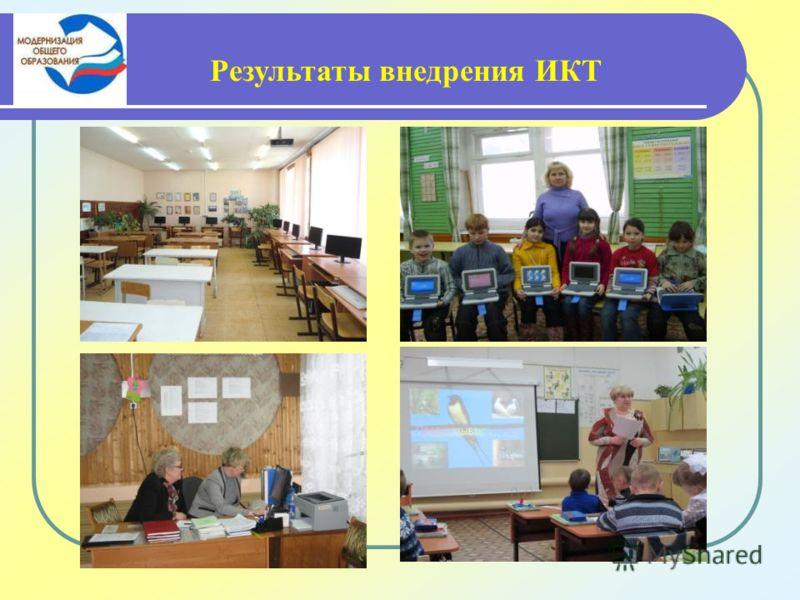 Результаты внедрения ИКТ