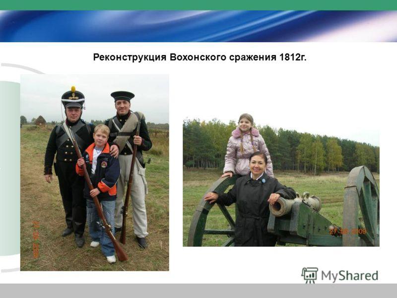 Реконструкция Вохонского сражения 1812г.