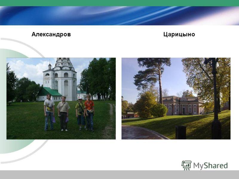 АлександровЦарицыно