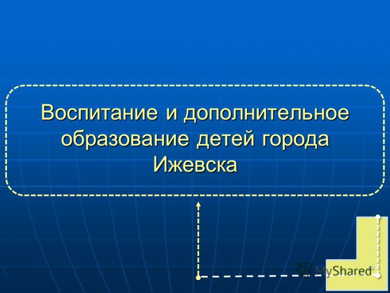 Воспитание и дополнительное образование детей города Ижевска 38