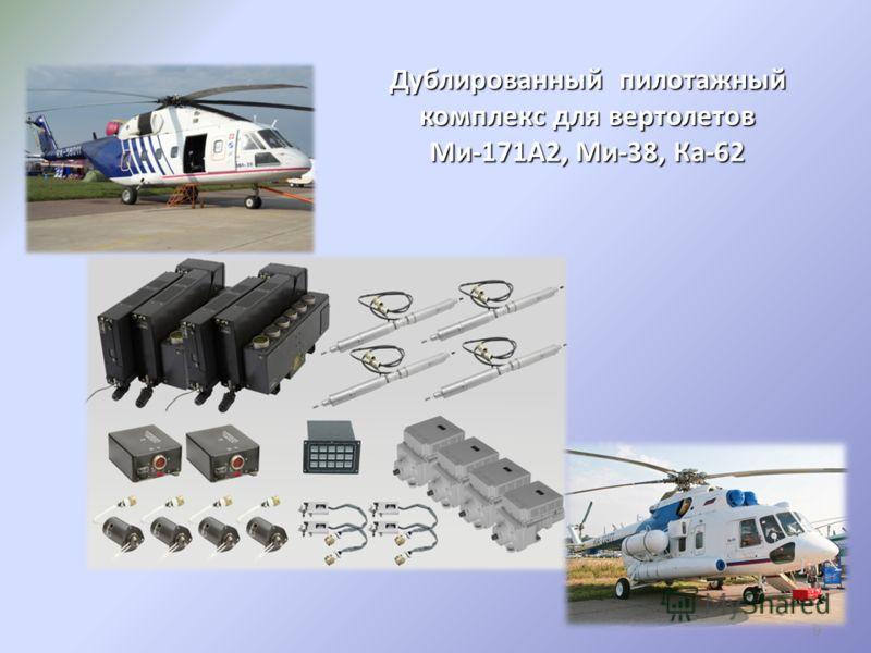 Дублированный пилотажный комплекс для вертолетов Ми-171А2, Ми-38, Ка-62 9