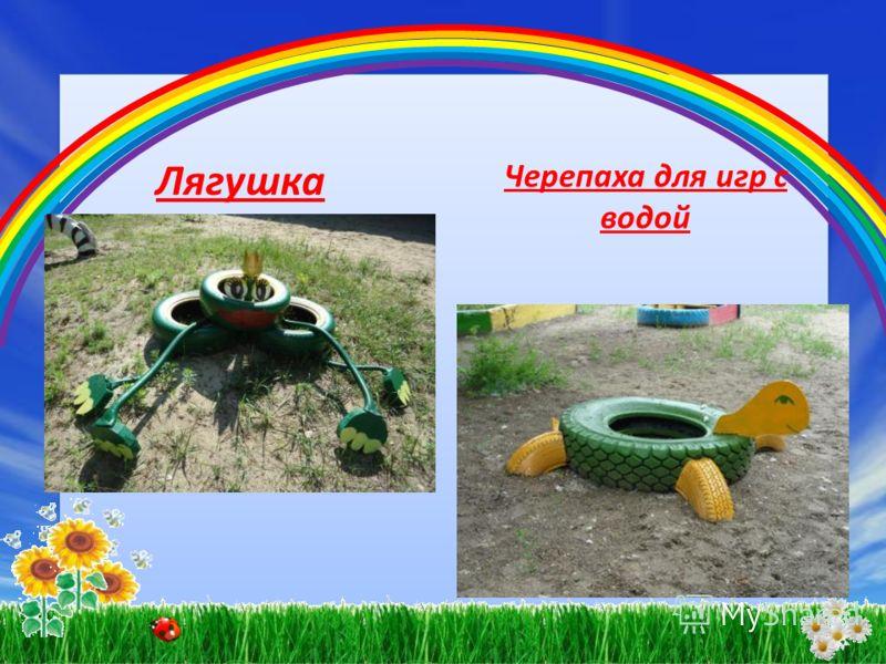 Лягушка Черепаха для игр с водой