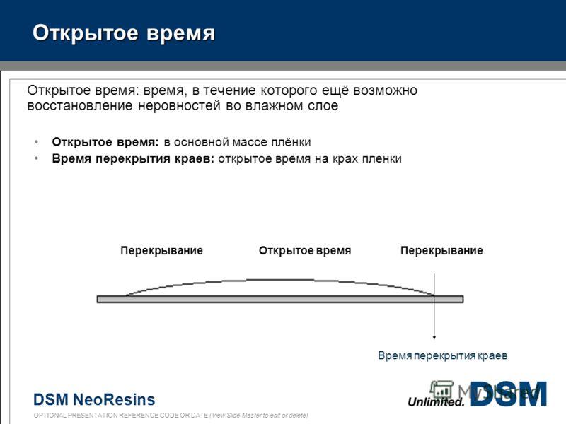 DSM NeoResins OPTIONAL PRESENTATION REFERENCE CODE OR DATE (View Slide Master to edit or delete) 22 Водоосновные (акрилатные) краски в сравнении с органорастворимыми на основе алкидов Сильные стороны дисперсий Быстрое высыхание до отлипа Низкое содер