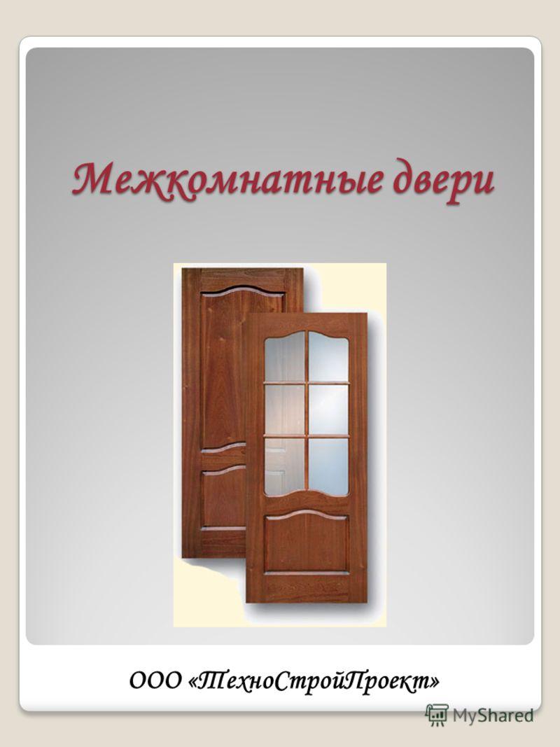 Межкомнатные двери ООО «ТехноСтройПроект»