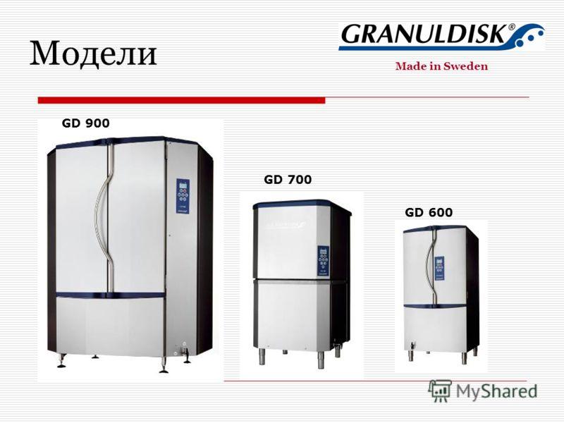 GD 900 GD 600 GD 700 GD 900 Модели Made in Sweden