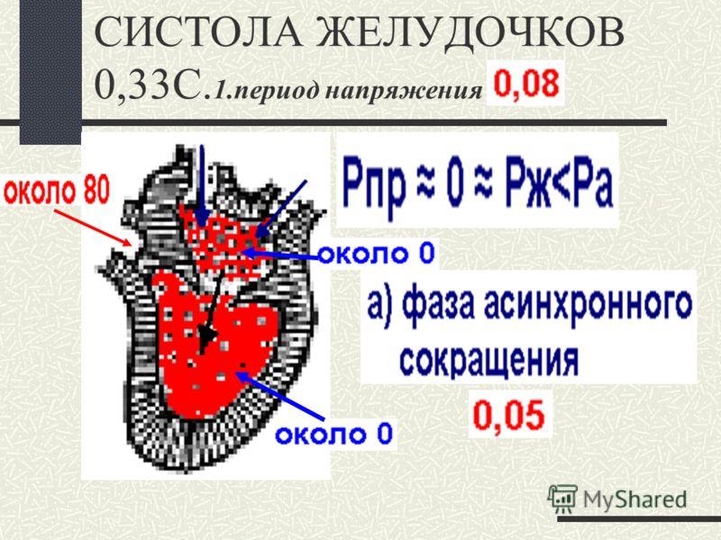 СИСТОЛА ПРЕДСЕРДИЙ 0,1С
