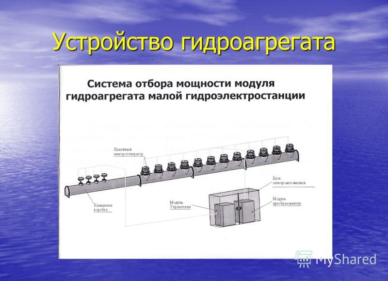 Устройство гидроагрегата
