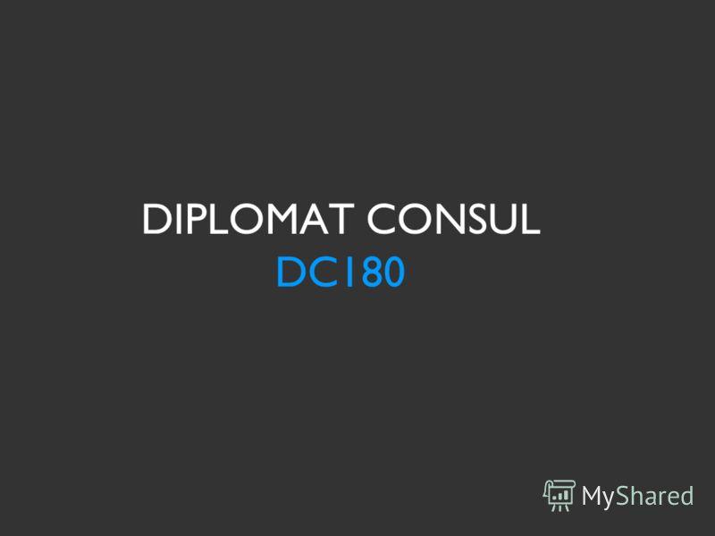 DIPLOMAT CONSUL DC180