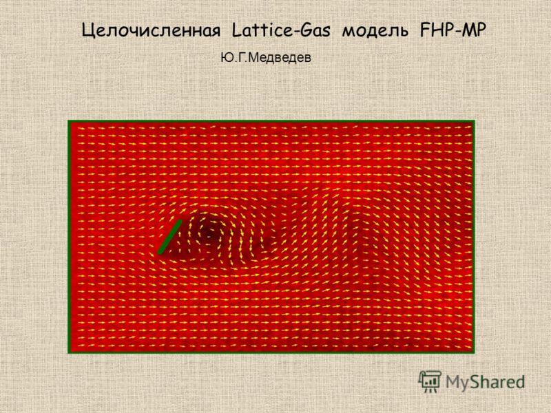 Целочисленная Lattice-Gas модель FHP-MP Ю.Г.Медведев