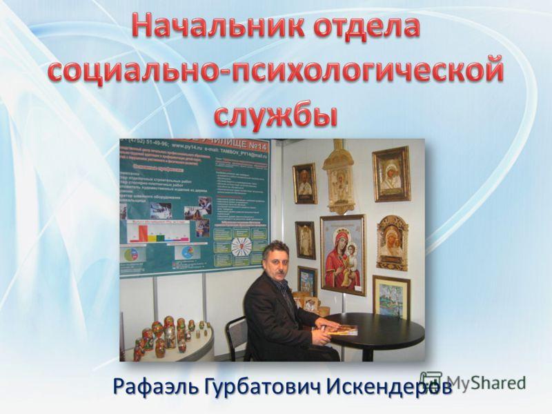 Рафаэль Гурбатович Искендеров
