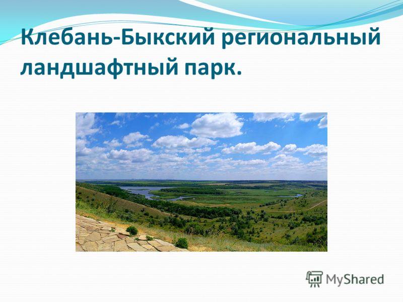 Клебань-Быкский региональный ландшафтный парк.