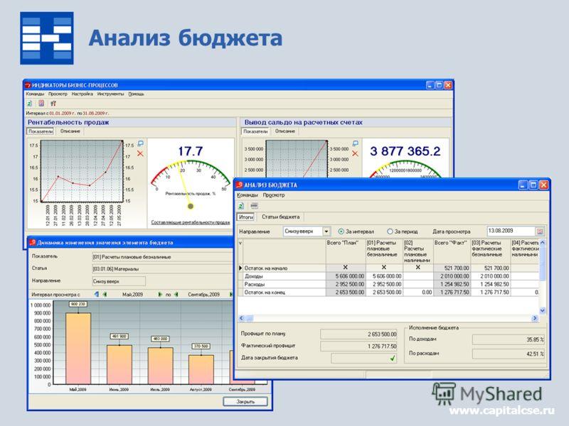 Анализ бюджета www.capitalcse.ru