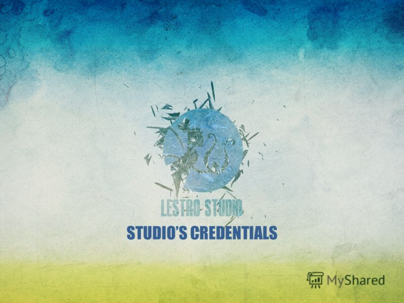 STUDIOS CREDENTIALS