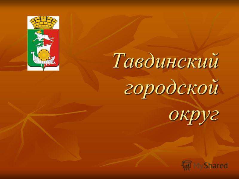 Тавдинский городской округ
