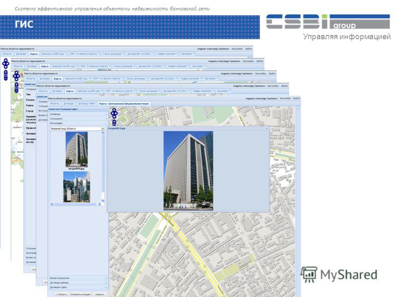 Управляя информацией Система эффективного управления объектами недвижимости банковской сети ГИС