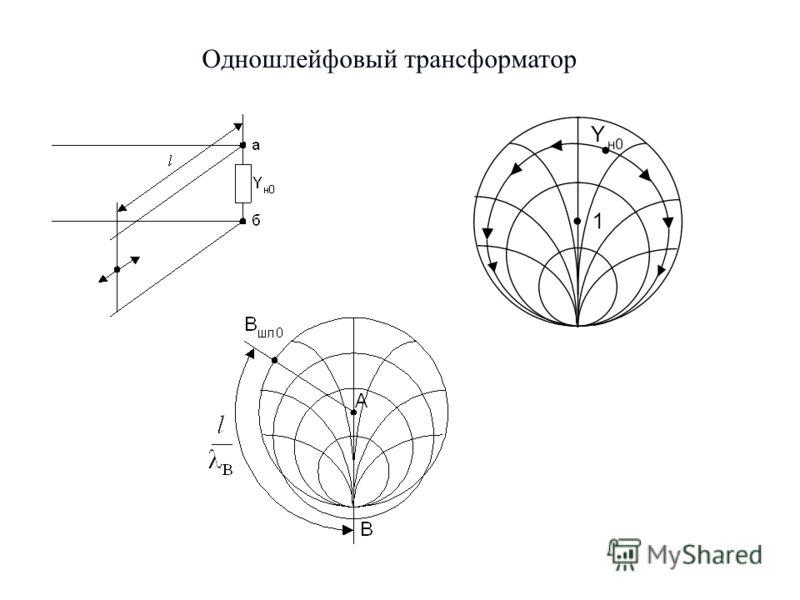 9 Одношлейфовый трансформатор